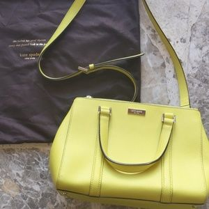 Electric Green Kate Spade Bag